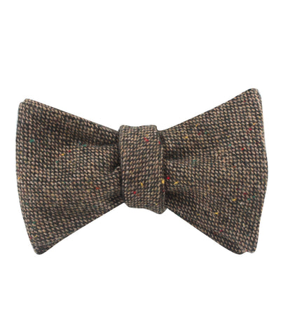 Donegal Green Self Bow Tie