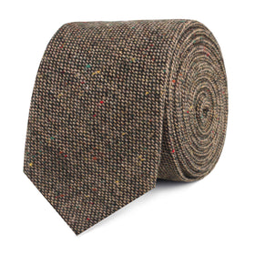 Donegal Green Skinny Tie