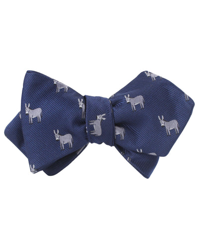 Donkey Diamond Self Bow Tie