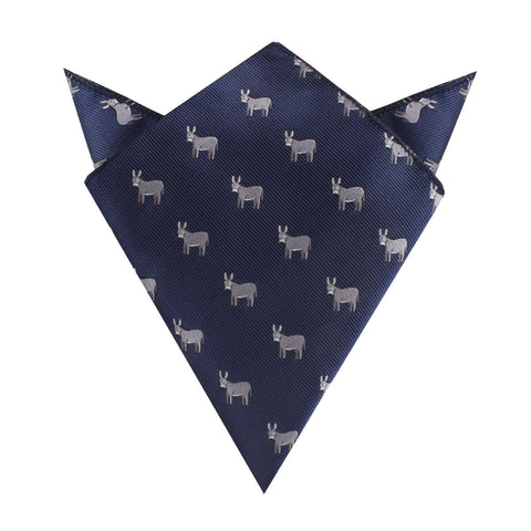 Donkey Pocket Square