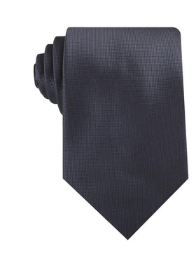 Dubrovnik Charcoal Grey Diamond Necktie