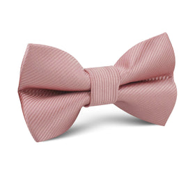 Dusty Rose Twill Vintage Kids Bow Tie