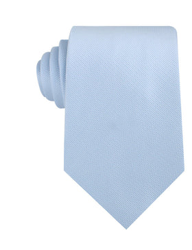 Dusty Ice Blue Weave Necktie