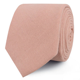 Dusty Rose Pink Skinny Tie