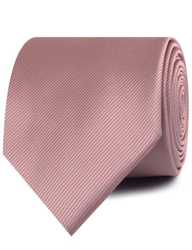 Dusty Rose Twill Necktie