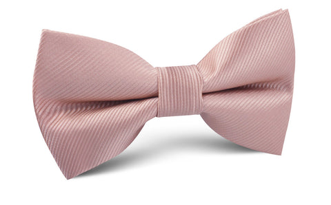 Dusty Rose Twill Vintage Bow Tie