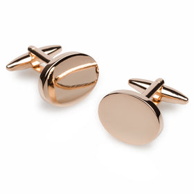 Eden Park Rose Gold Cufflinks