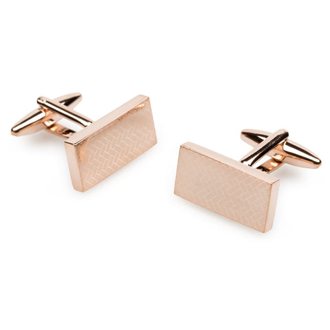 Edvard Munch Rose Gold Cufflinks