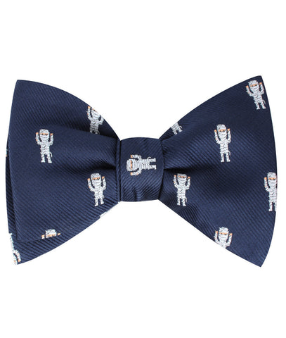 Egyptian Mummy Self Bow Tie