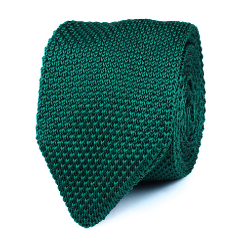 Einar Forest Knitted Tie