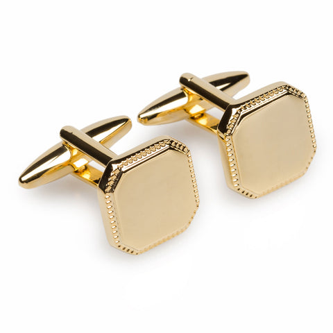 El Greco Gold Cufflinks