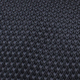 Elan Argent Grey Knitted Tie Fabric