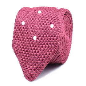 Elon Musk Pink Knitted Tie