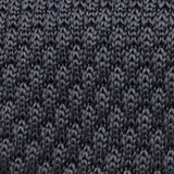 Elysian Grey Knitted Tie Fabric