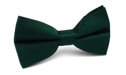 Emerald Green Cotton Bow Tie