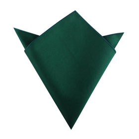 Emerald Green Cotton Pocket Square