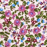 Etrangère Paradis Floral Pocket Square Fabric