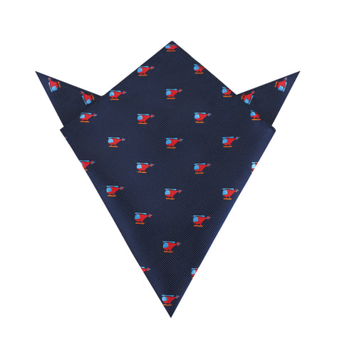 Eurocopter Pocket Square