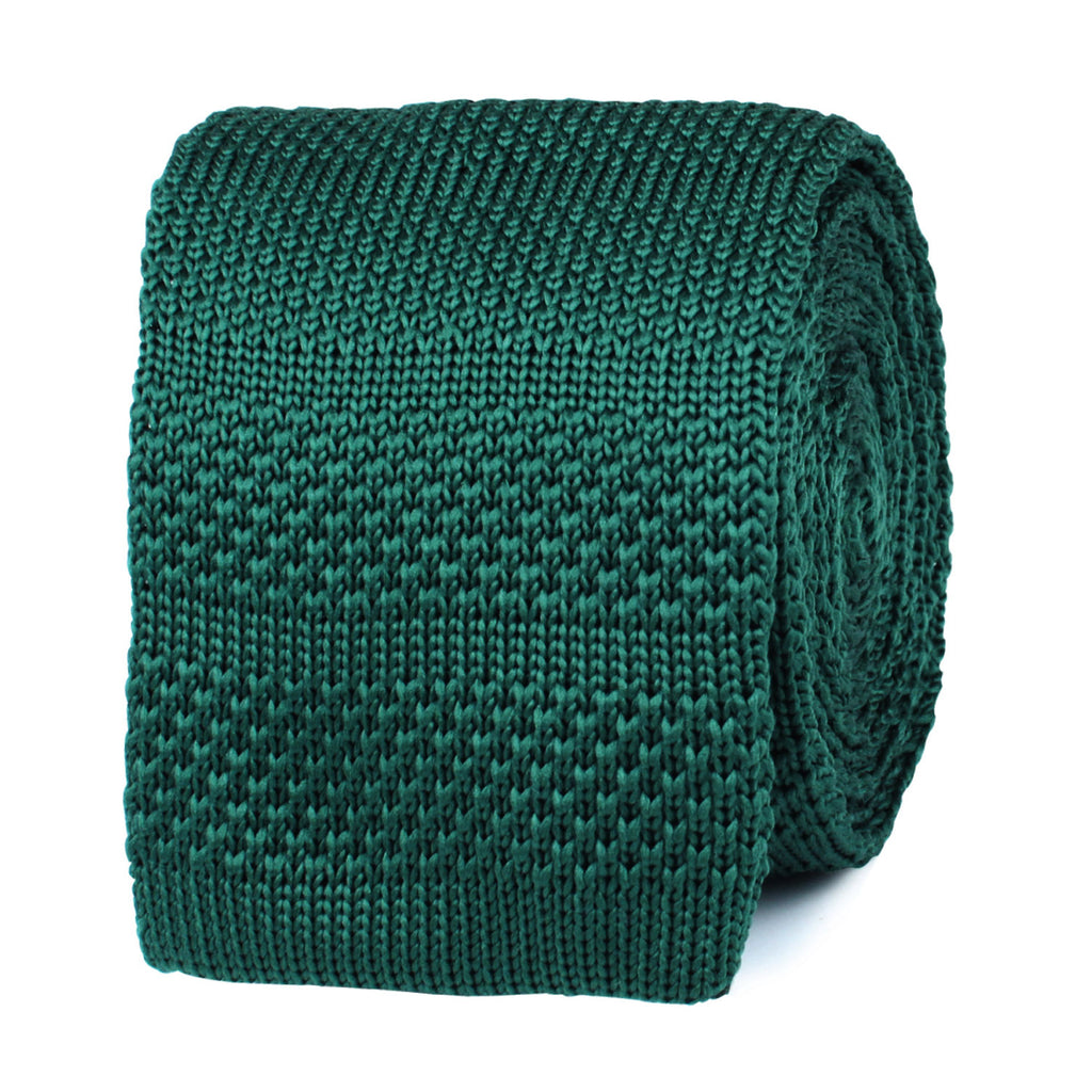 Exeter Green Knitted Tie