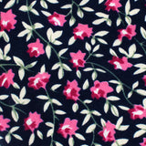 Fijian Floral Pocket Square Fabric