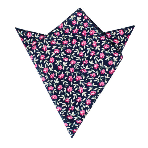 Fijian Floral Pocket Square