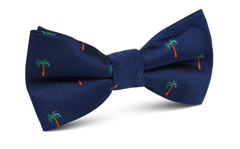 Fijian Palm Tree Bow Tie