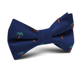 Fijian Palm Tree Kids Bow Tie
