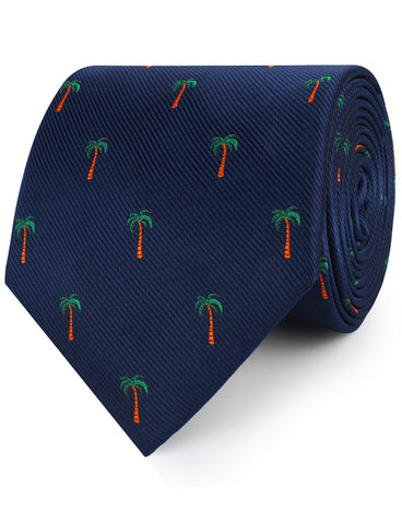 Fijian Palm Tree Necktie