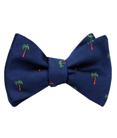 Fijian Palm Tree Self Bow Tie