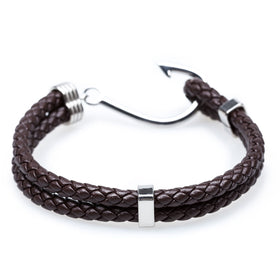 Fish Hook Brown Bracelet