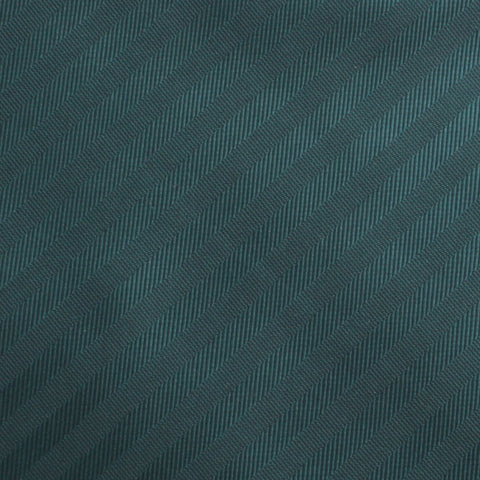 Forest Dark Green Striped Pocket Square