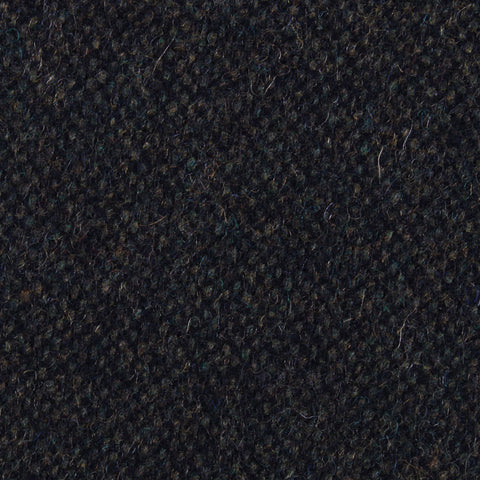 Forest Romney Sharkskin Wool Pocket Square