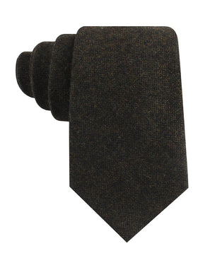 Forest Romney Sharkskin Wool Tie