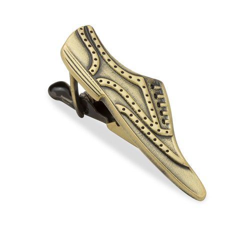 Fred Astaire Brass Tap Shoe Tie Bar