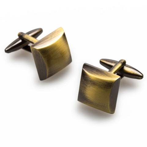 Frédéric Chopin Antique Brass Cufflinks