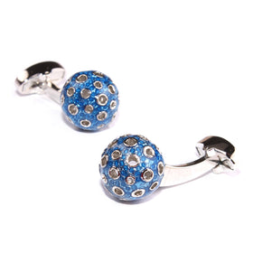 Games of Thrones Blue Dragon Egg Cufflinks