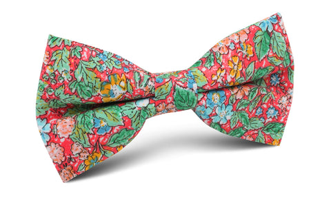 Gardens of Versailles Floral Bow Tie