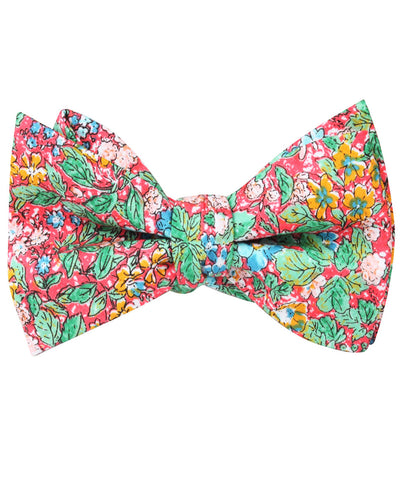 Gardens of Versailles Floral Self Bow Tie
