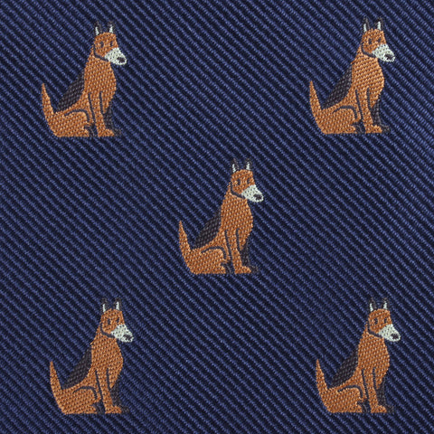 German Shepherd Dog Diamond Bow Tie