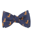 German Shepherd Dog Self Tied Bowtie