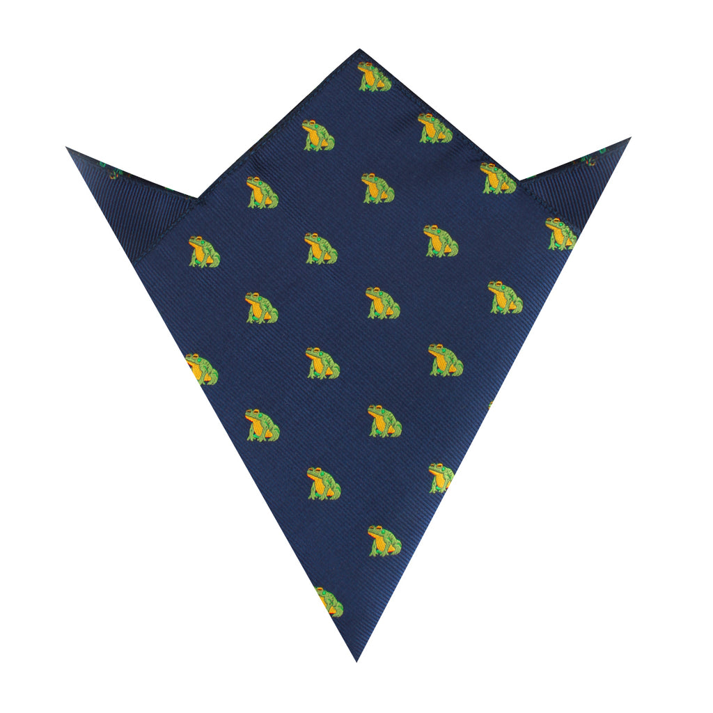 Gero Gero Frog Pocket Square