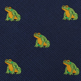 Gero Gero Frog Self Bow Tie Fabric