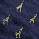 Giraffe Fabric Self Diamond Bowtie
