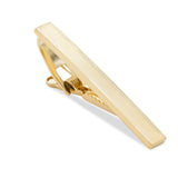 Gold Horizontal Lines Tie Bar