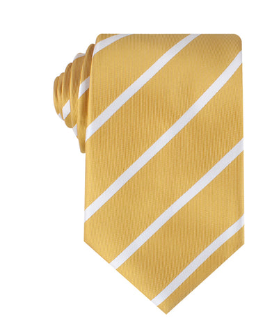 Gold Striped Necktie