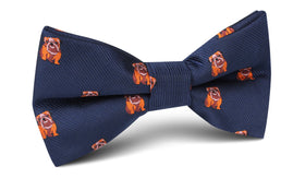 Golden Bulldog Bow Tie