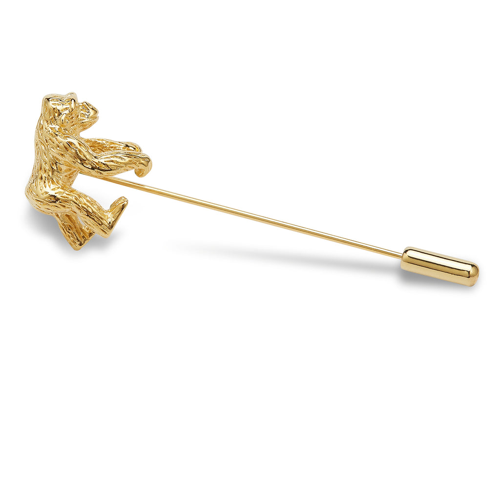 Golden Harambe Lapel Pin