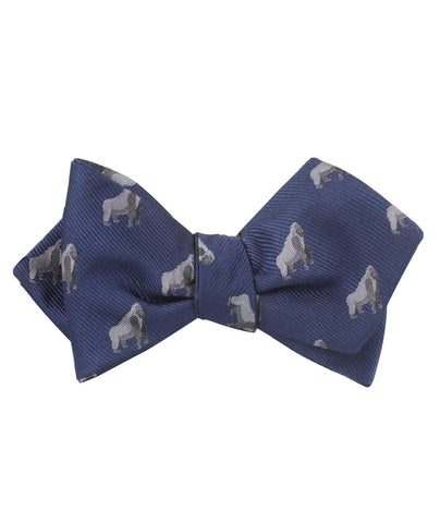 Gorilla Diamond Self Bow Tie