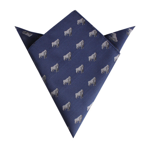 Gorilla Pocket Square