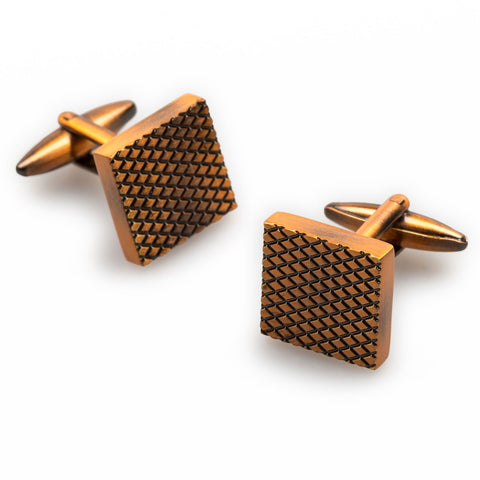 Gothenburg Antique Copper Cufflinks